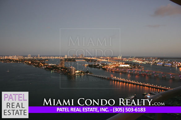 Miami Waterfront Condo View