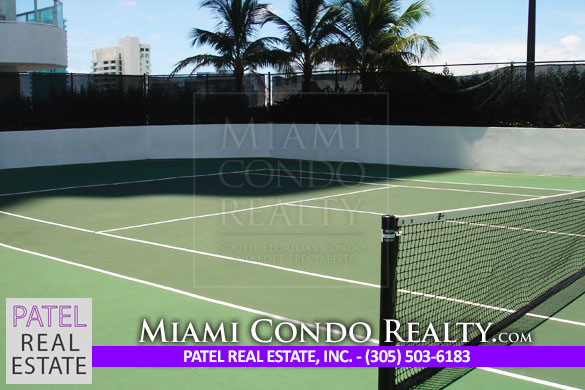 Akoya Miami Beach Tennis Court