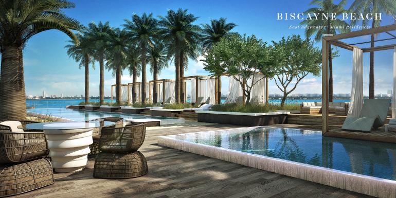 Image of Biscayne Beach condominium exterior rendering