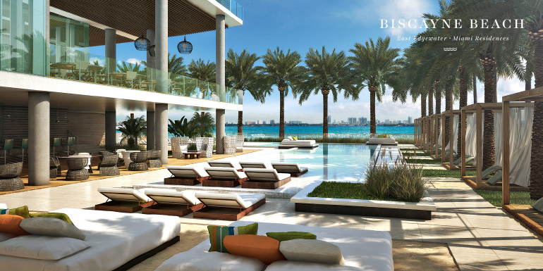 rendering of Biscayne Beach