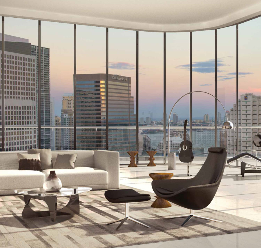 rendering of Brickell Heights condominium