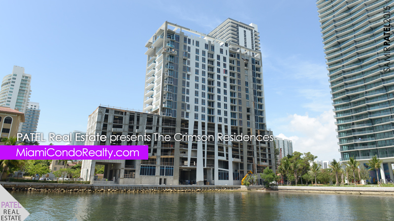 photo of construction Crimson condominium