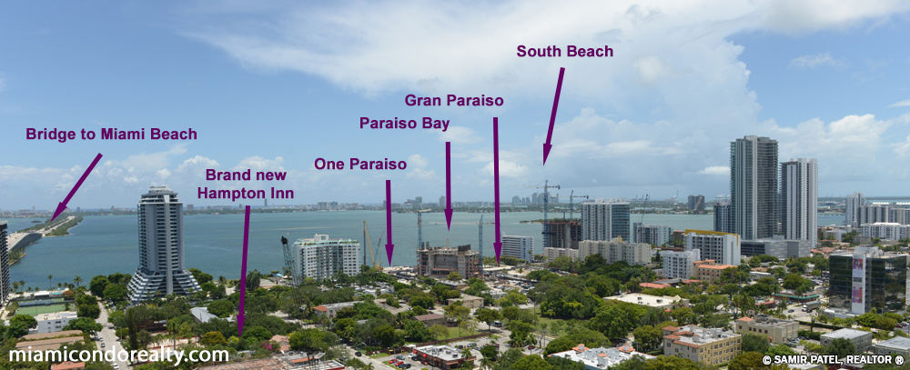 Image of Gran Paraiso condo area and neighborhood