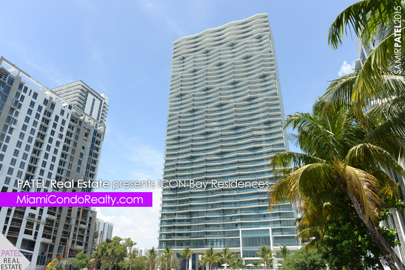 photo of exterior of Icon Bay condominium