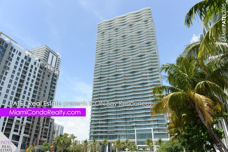 photo of exterior of Icon Bay condominium