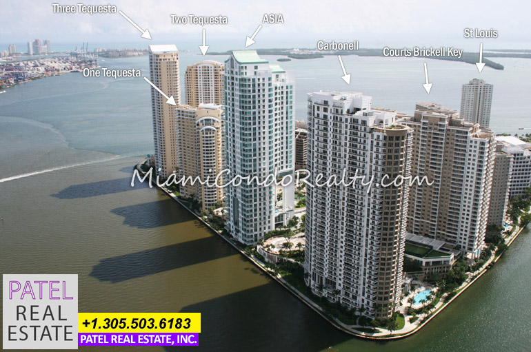 photo of Brickell Key condos
