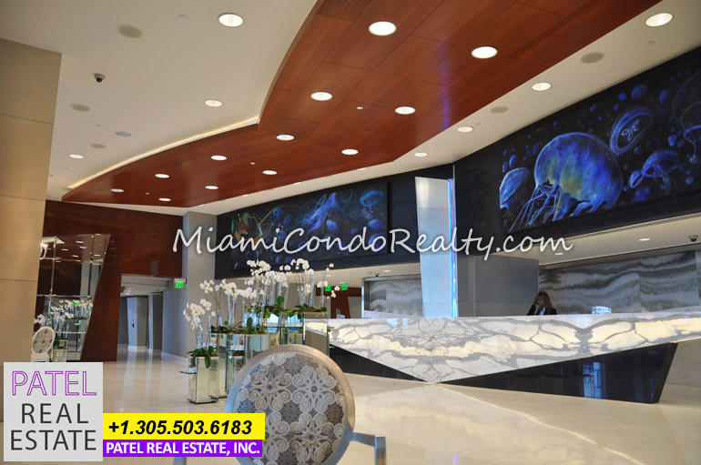 Photo of the Lobby in Jade Ocean Condo