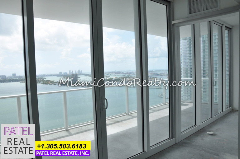 Photo of the view from Paramount Bay Condo in Miami