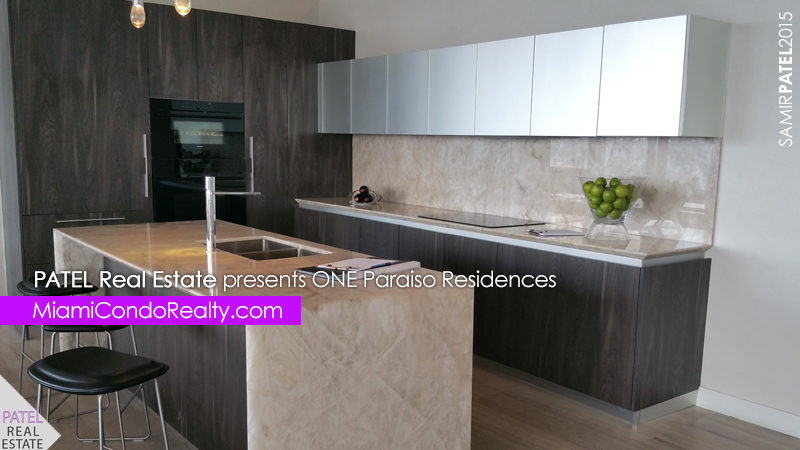 ONE Paraiso kitchen