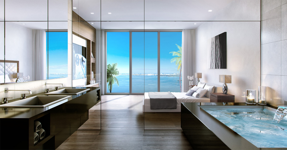 rendering of Gran Paraiso condo interior