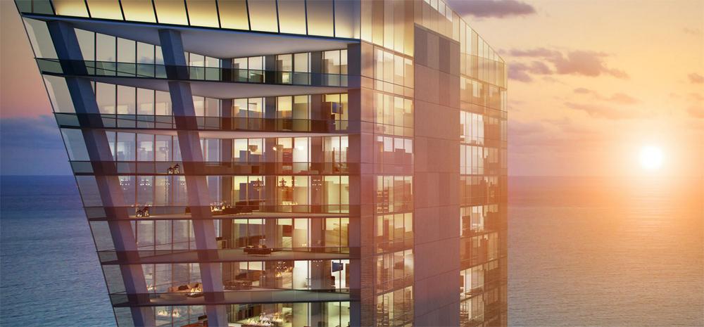 rendering of Muse condominium in Sunny Isles Beach Florida