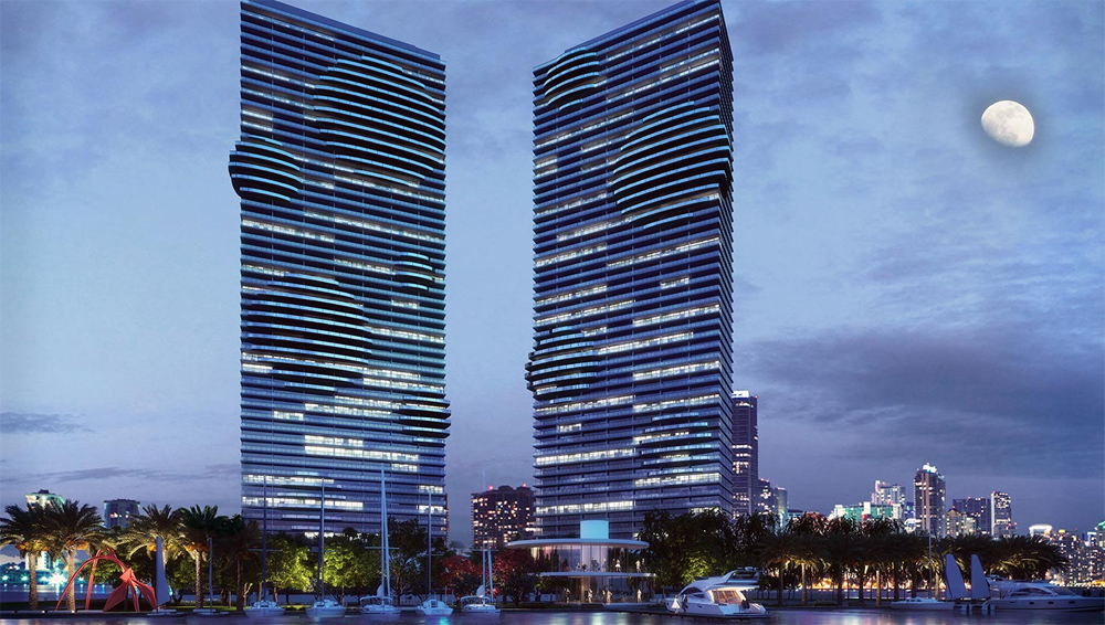 rendering of Paraiso Bay building