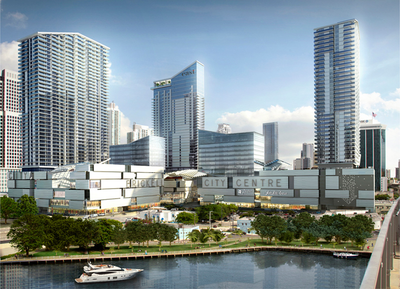 rendering of Reach Condominium at Brickell City Centre