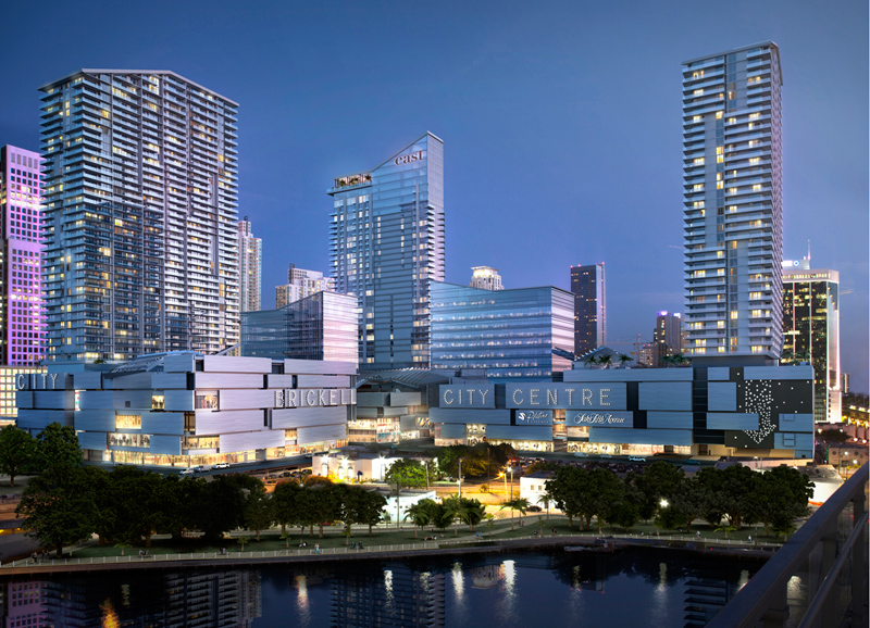 rendering of Rise Condominium at Brickell City Centre