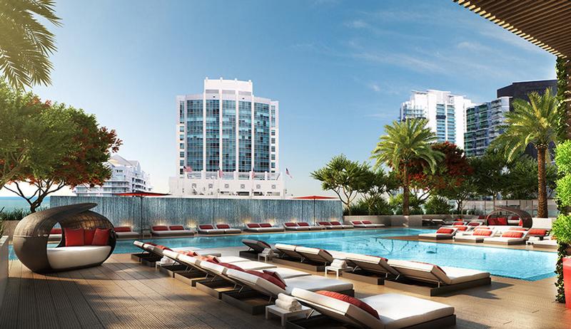 rendering of the the Bond on Brickell condominium